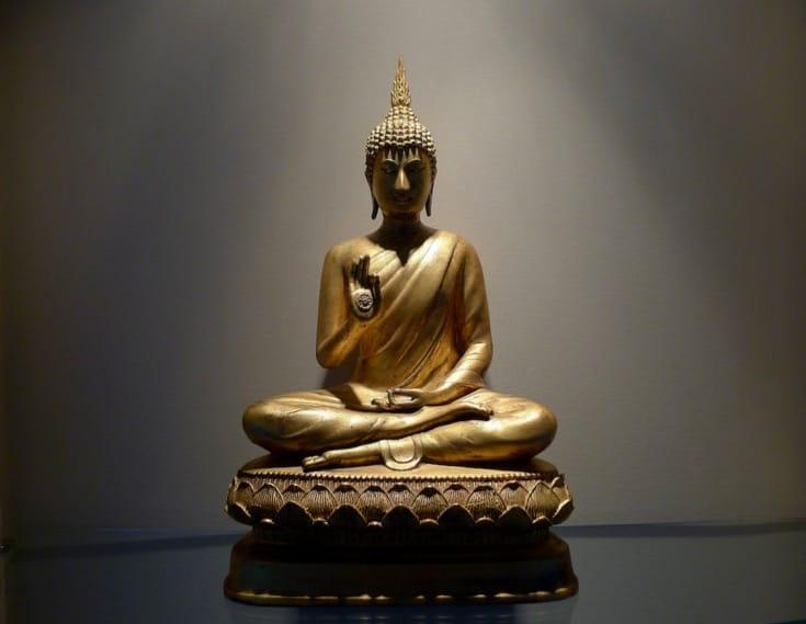 Thai style Buddha statue.