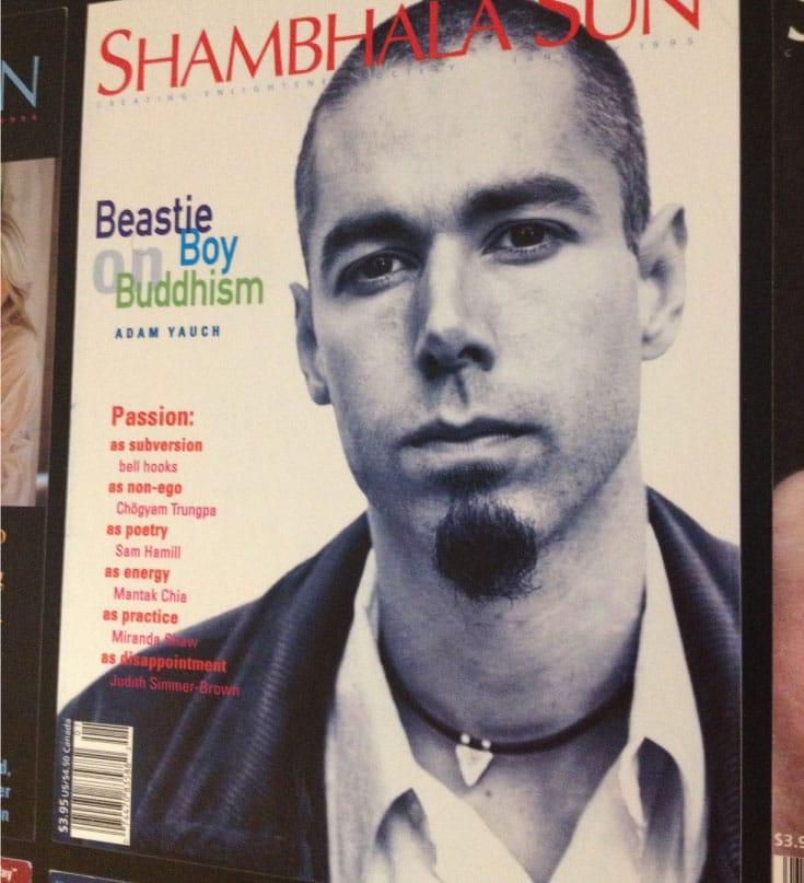 adam yauch, beastie boy, check his head, interview, musician, buddhism, lion's roar, shambhala sun