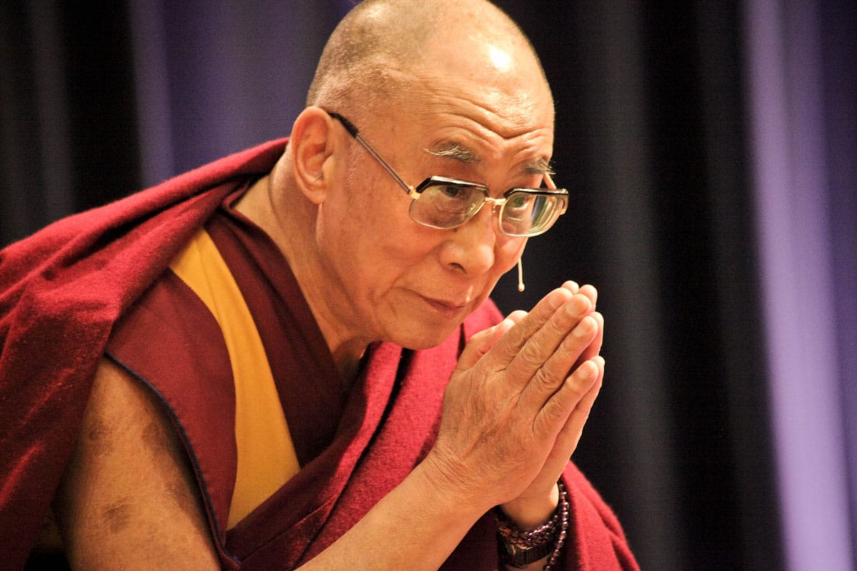 The Dalai Lama Basic Goodness Teaching Lion's Roar Buddhism