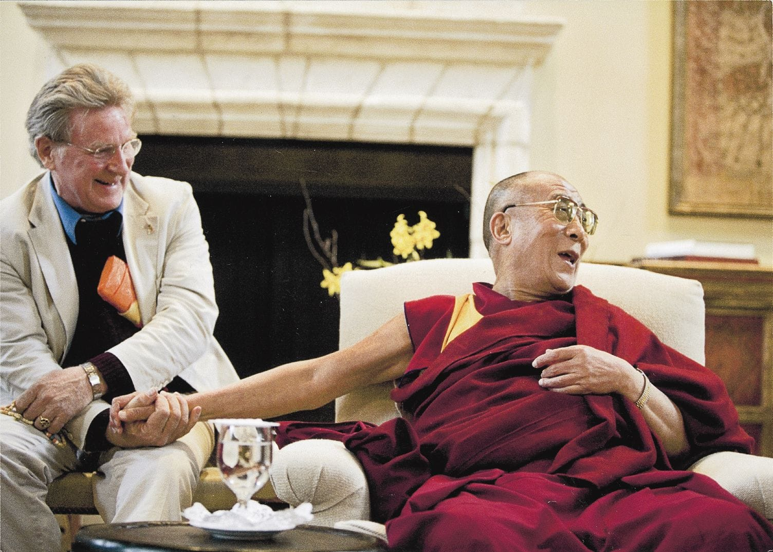 Robert Thurman the Dalai Lama