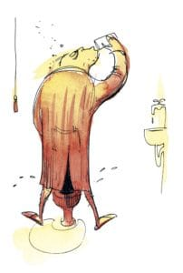 drink-urinating