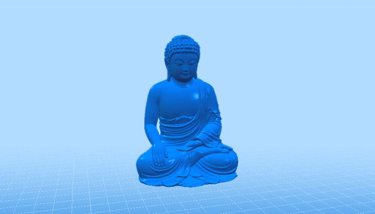 3D Buddha.