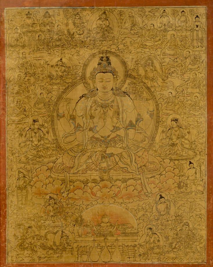 Tonglen, Avalokiteshvara.