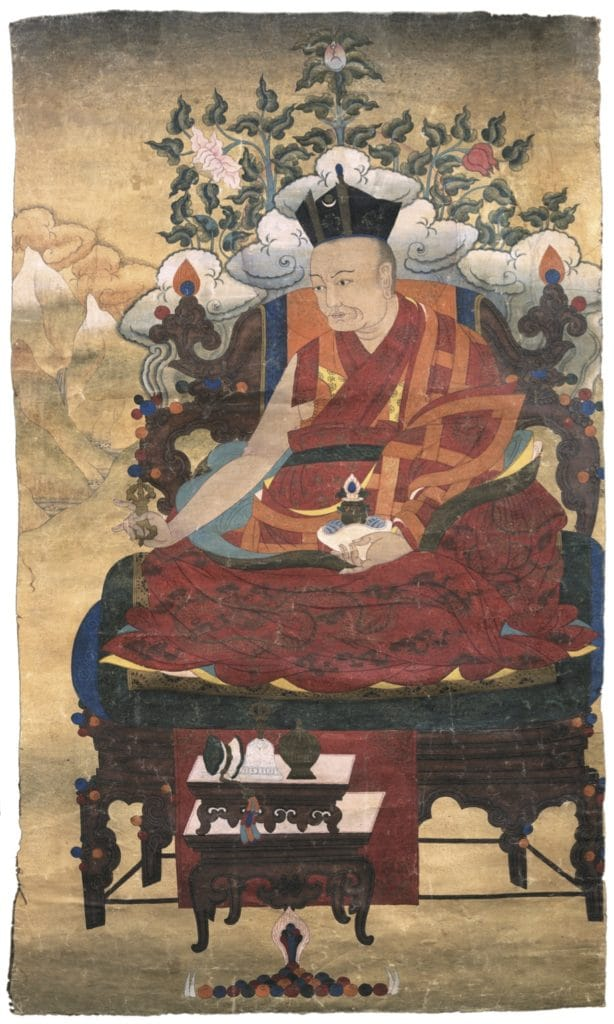 Wangchuk Dorje, the 9th Karmapa (1555-1603), leader of the Kagyti order and author of several important tantric texts.