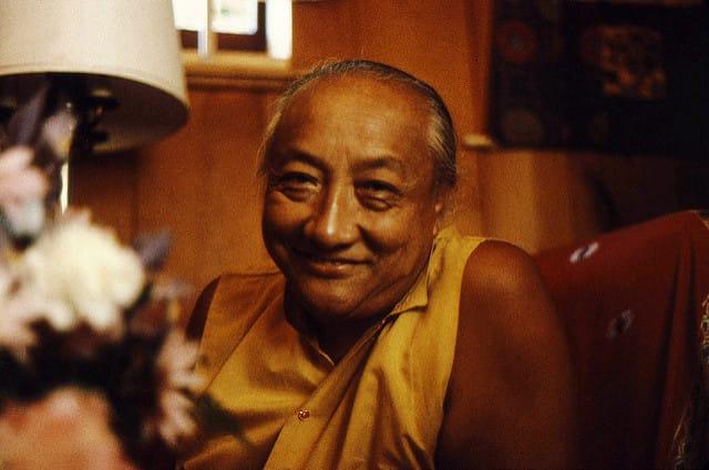 Dilgo Khyentse Rinpoche. Photo via flickr.