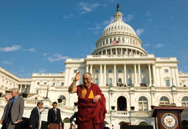many faces of the dalai lama shambhala sun barry boyce Lion's Roar national government Capitol political leader