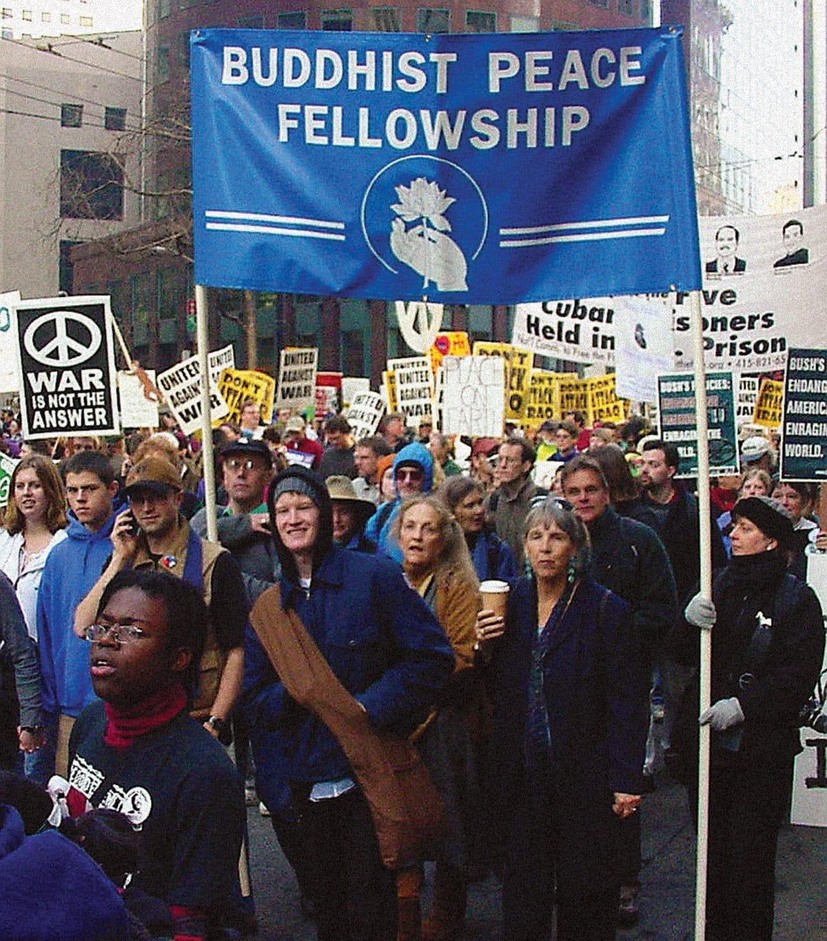 Profile: Buddhist Peace Fellowship - Lion's Roar