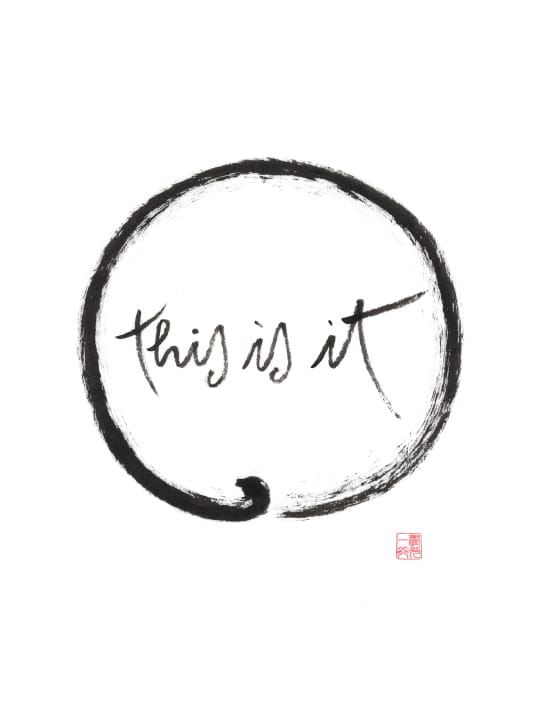 This is it by By Thich Nhat Hanh