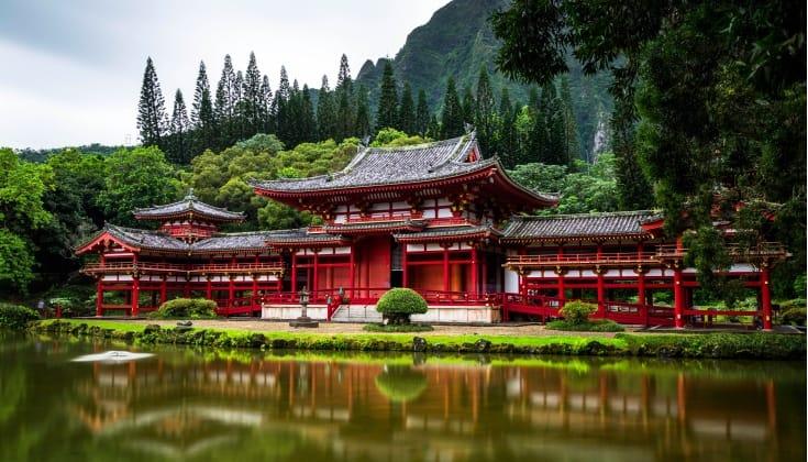 temple, zen