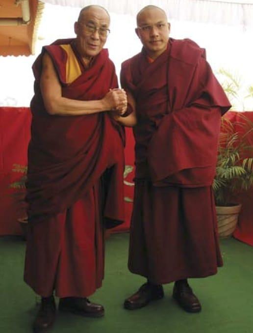 Karmapa Dalai Lama Kagyu Lion's Roar Buddhism