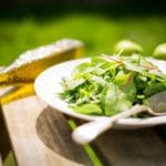 Arugula Salad With Avocado and Cashew Nuts