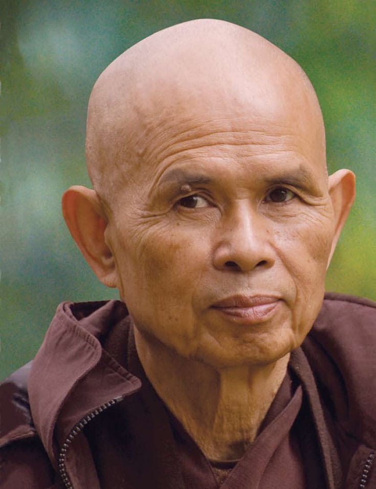Thich Nhat Hanh. Photo by Brother Phap Due.