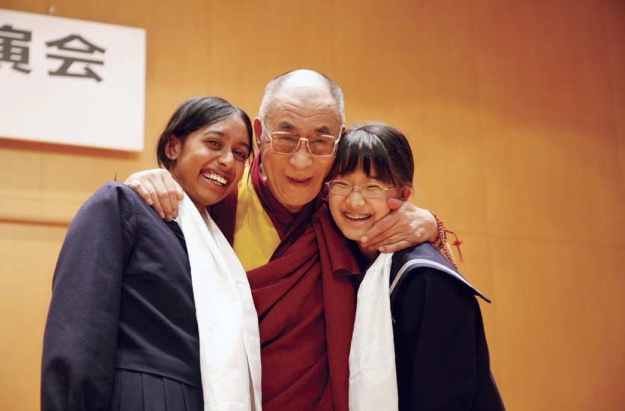 heart of the dalai lama japan high school students pico iyer Lion's Roar shambhala sun Buddhism