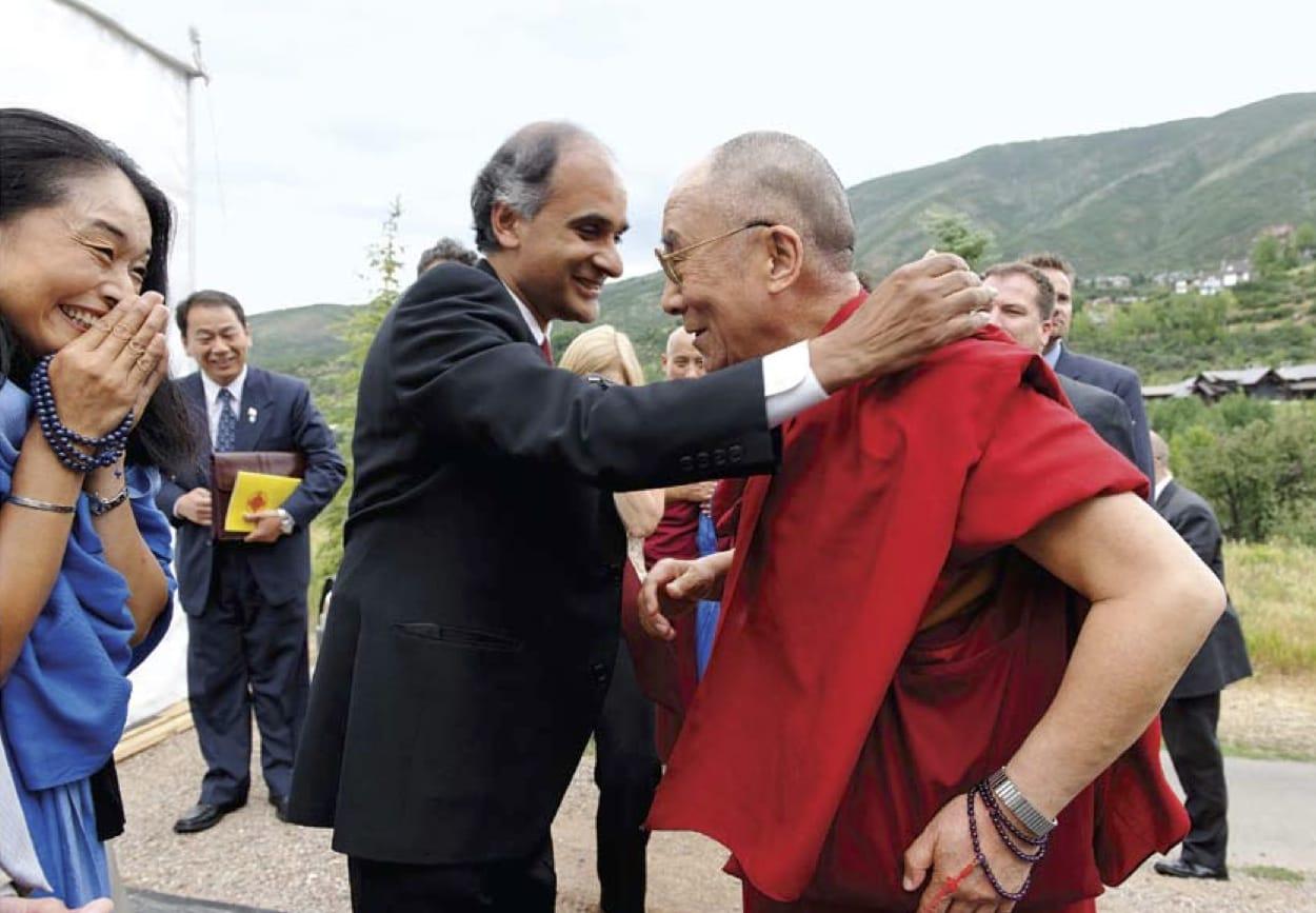 radar of compassion Lion's Roar Buddhism Pico Iyer Dalai Lama Shambhala Sun Aspen Institute Symposium on Tibetan Arts and Culture Colorado