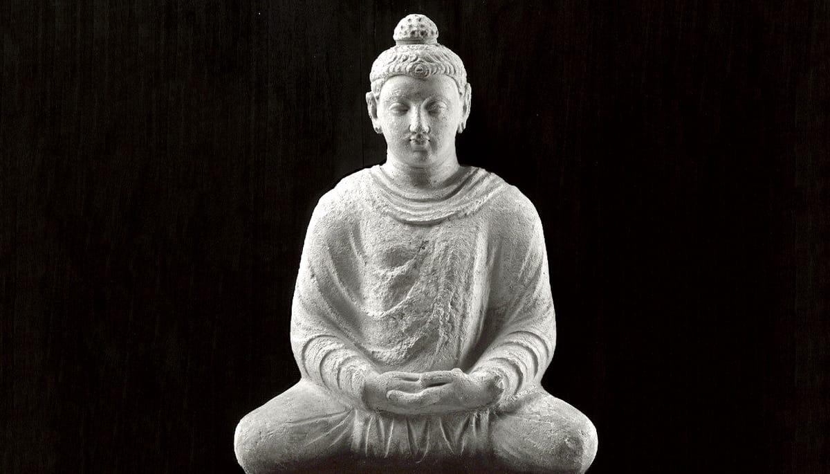 Meditating Buddha.