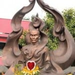 New statue honors Thich Quang Duc as patriot and bodhisattva
