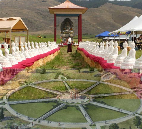 Montana 39 s garden of 1000 buddhas featured in ny times lion 39 s roar Garden of one thousand buddhas