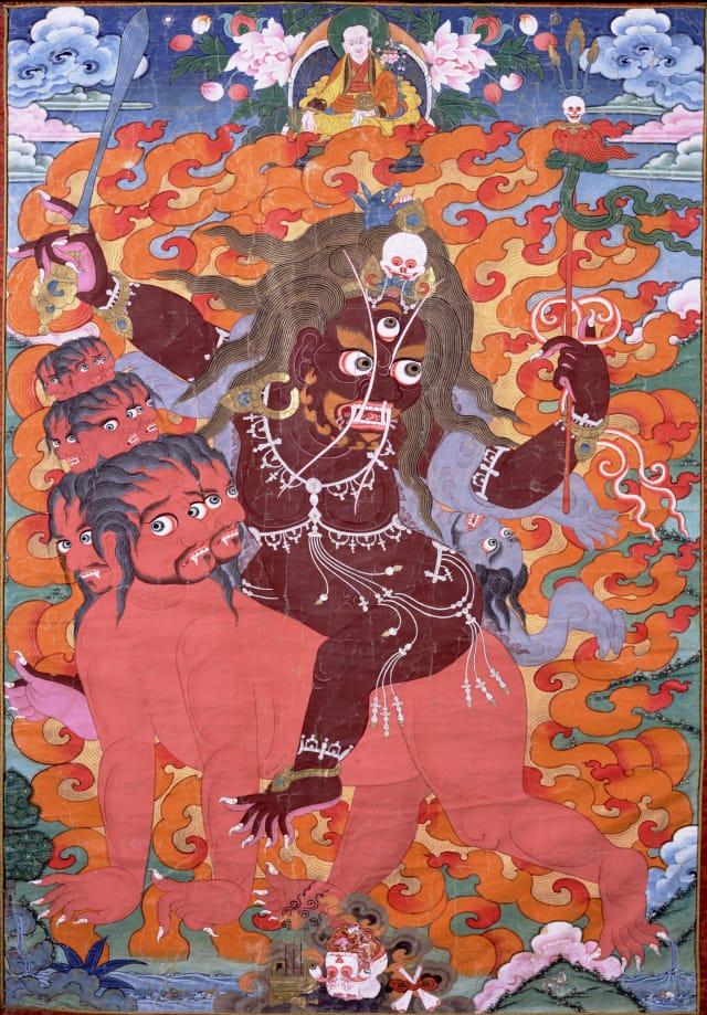 Buddhist protector Mahakala