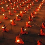 "You know that photo of ""100,000 monks praying for world peace""?"