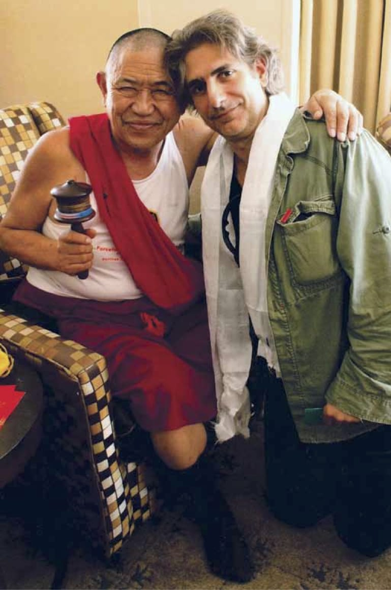 Michael Imperioli Garchen Rinpoche Refuge Vow Lion's Roar Buddhism Sopranos Christoper Moltisanti Andrea Miller Shambhala Sun Buddhism