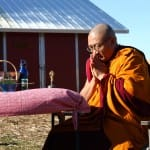 A monk's campaign for vegetarianism and compassion toward animals