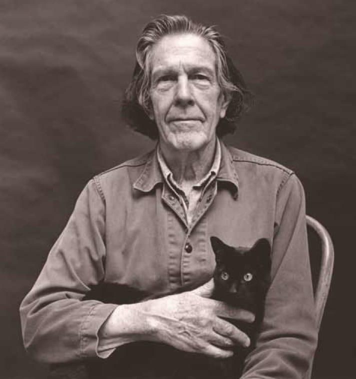 "John Cage 4'33"" Zen Emptiness Art Avante Garde Kay Larson"