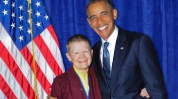 Pema Chodron and President Obama - Shambhala SunSpace