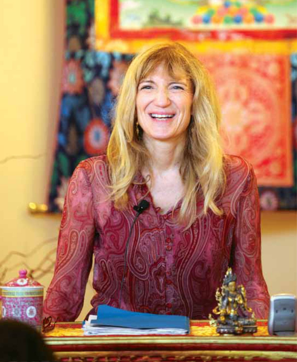 lama palden drolma female leaders feminine principle energy lion's roar buddhism shambhala sun