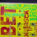 "Take a look at Adam Yauch's ""Bodhisattva Vow"" skateboard decks…"