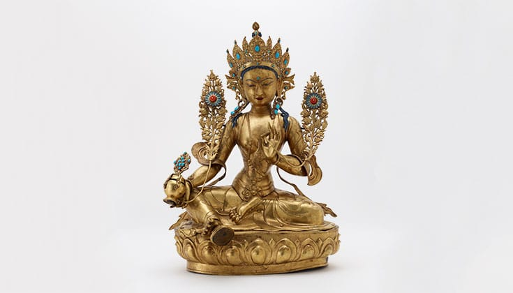 Statue of Tara the liberator.