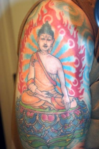 Just one of the tattoos from TheWorstHorse.com, this one submitted by Gary Steinberg of the Metta Foundation.