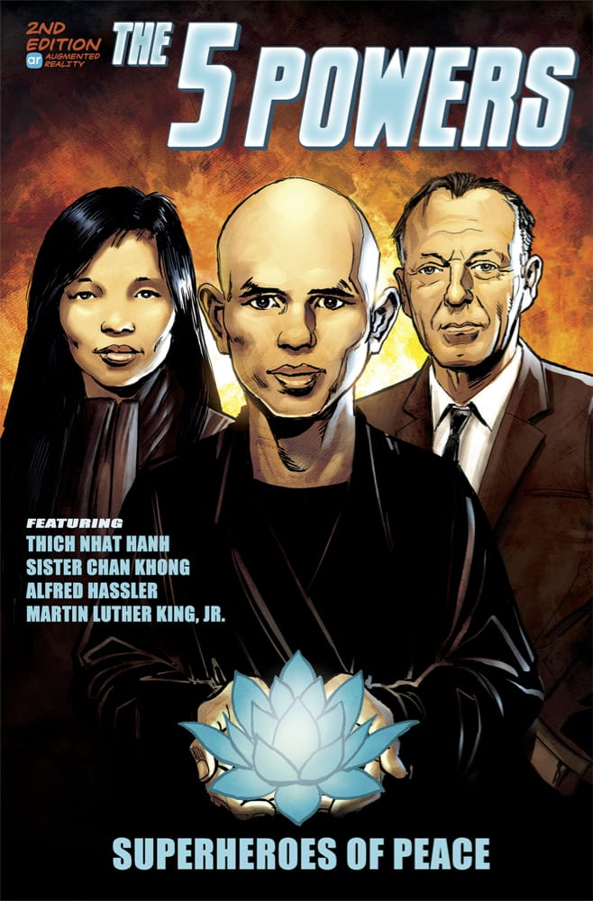 Thich Nhat Hanh, Comic, Peace, Lion's Roar, 5 Powers, Shambhala Sun, Lion's Roar, Buddhism