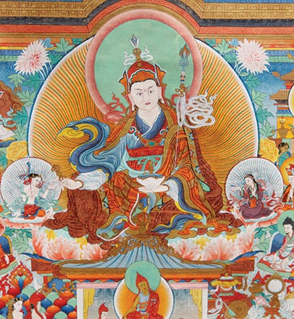 Illustration courtesy of Shechen Monastery