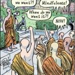 """Cartoonist Dan Piraro asks, """"What do we want?"""""""