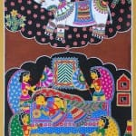 Indian artist Malvika Raj challenges tradition and caste to paint scenes from the Buddha's life
