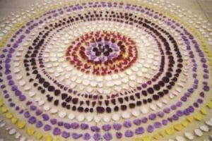 Rose Mandala in New York City.