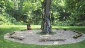 Stathacos' Refuge, a Wish Garden in Abington, Pennsylvania, 2006.