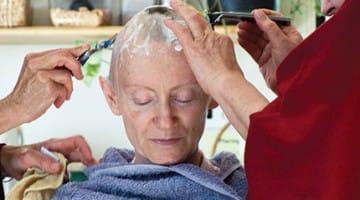 renunciation buddhadharma Lion's Roar shaving head nun monk monastic