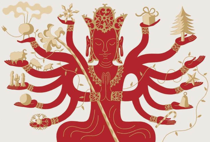 Joyful Giving Shambhala Sun January 2014 Norman Fischer Buddha