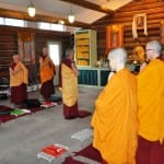 Guest post: Sravasti Abbey nuns conduct first traditional, three-month monastic retreat ritual in Tibetan tradition in North America