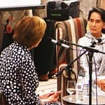 Aung San Suu Kyi: Buddhism taught me how to tell a good man from a bad man
