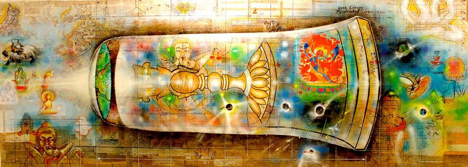 """Tashi Norbu, """"Universe XXL"""" (2014)"""