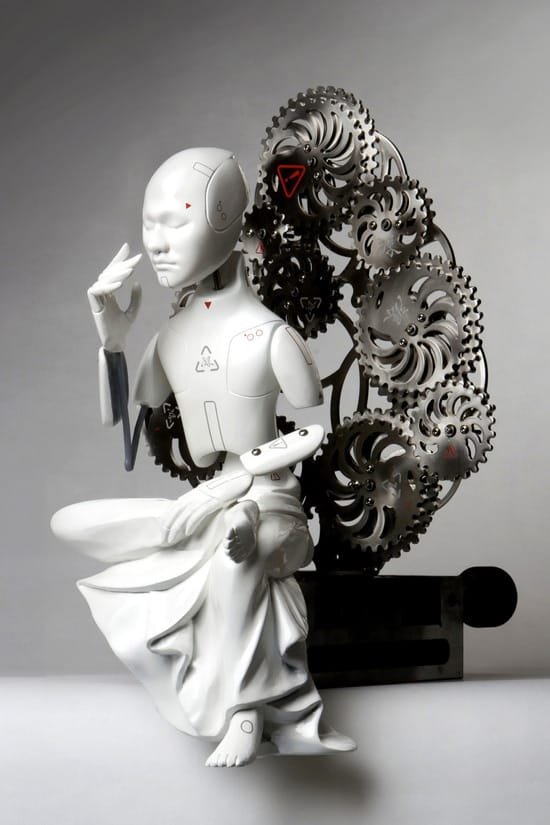 won mechanical buddha