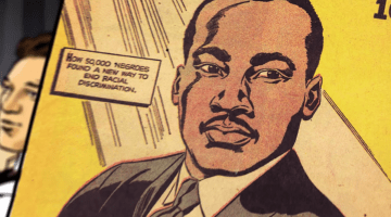 Martin Luther King comic book montgomery bus boycott