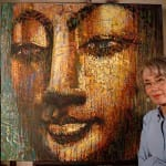 "Artist Virginia Peck: ""Faces of Buddha"" a decade-long inspiration"