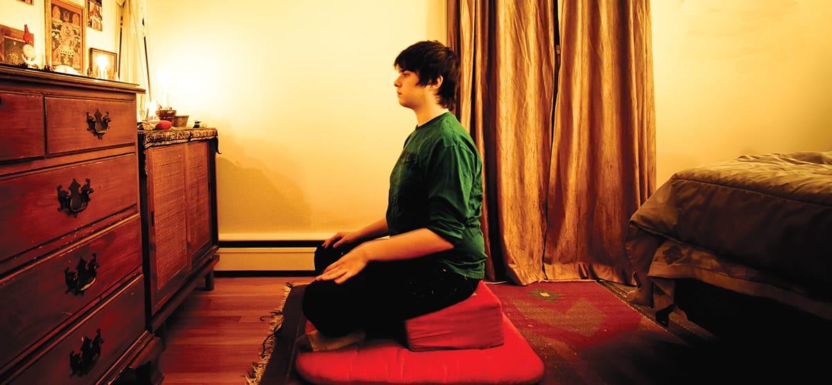 Sharon Salzberg Getting Started How to Meditate Lion's Roar Buddhism Instruction Posture Breath