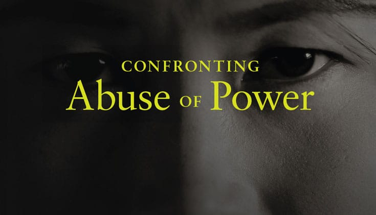No More Secrets: Confronting Abuse of Power - Lion's Roar
