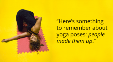 "Anne Cushman yoga poses ""People made them up"" Shambhala Sun"