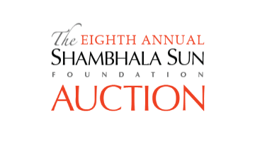 Shambhala Sun auction gifts shopping