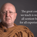 Funny, poignant teachings from Ajahn Brahm